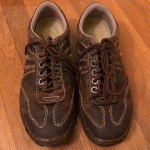 Doc Martens KURT AW004 brown lace ups mens size 8